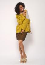 Skirt Made in ocher right direction