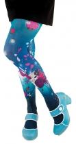 fantasy woman blue tights Lili Gambettes