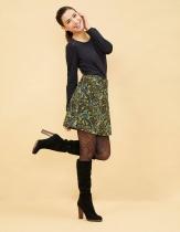 green short skirt Bride Mekong Qiang paloba