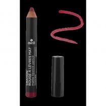 Pencil lipstick Mat grenadine Certified Organic cosmetic Avril