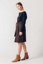 Button Skirt Izadi SKFK organic cotton GOTS