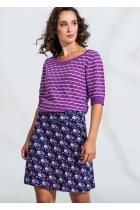 Purple flared skirt 4funkyflavours You're in my system