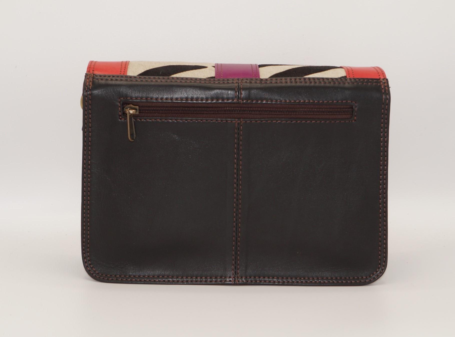 Women leather shoulder bag #9, unique women's bag
