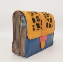 Women leather shoulder bag #17, unique women's bag