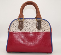 Retro bags and leather bowling bags