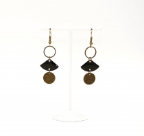 Simple original Linda earrings, Be Chic Bijoux