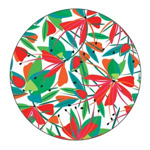 Magnet caps Yaya Factory Fleurs du paradis 25
