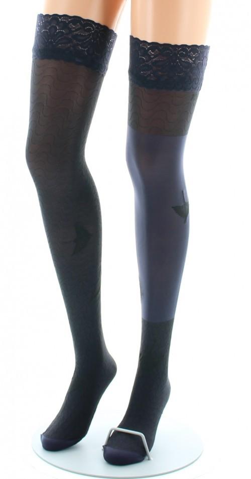 Bas nylon fins Berthe aux grands pieds