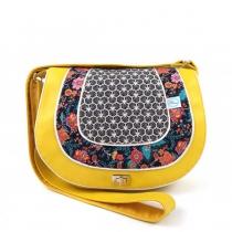 Besace Vintage jaune Lila Bohème
