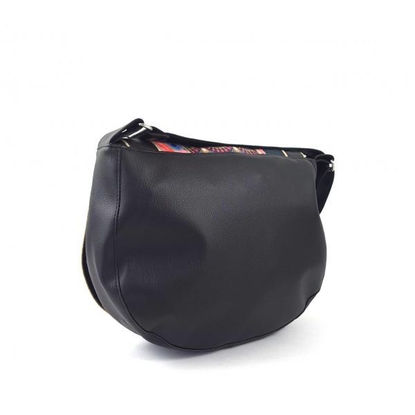 Besace Vintage noire Lila Bohème