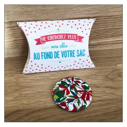 "Bijoux de sac \""attrape clés\"" 38 mm Yaya Factory"