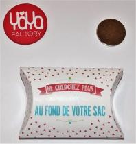 "Bijoux de sac \""attrape-clés\"" 38 mm Yaya Factory"