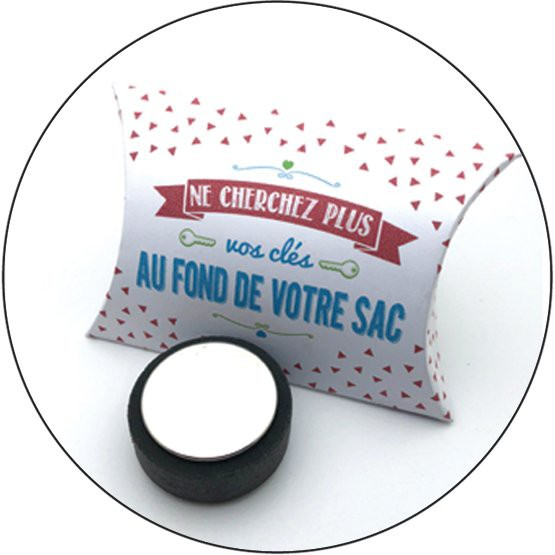 "Bijoux de sac ""attrape-clés\"" support 38 mm Yaya Factory"