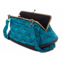 blue clip handbag Bibop and Lula
