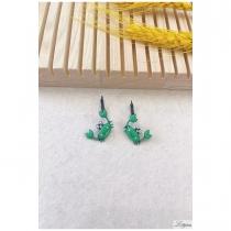 Boucle d\'oreille LOL bijoux crabes verts