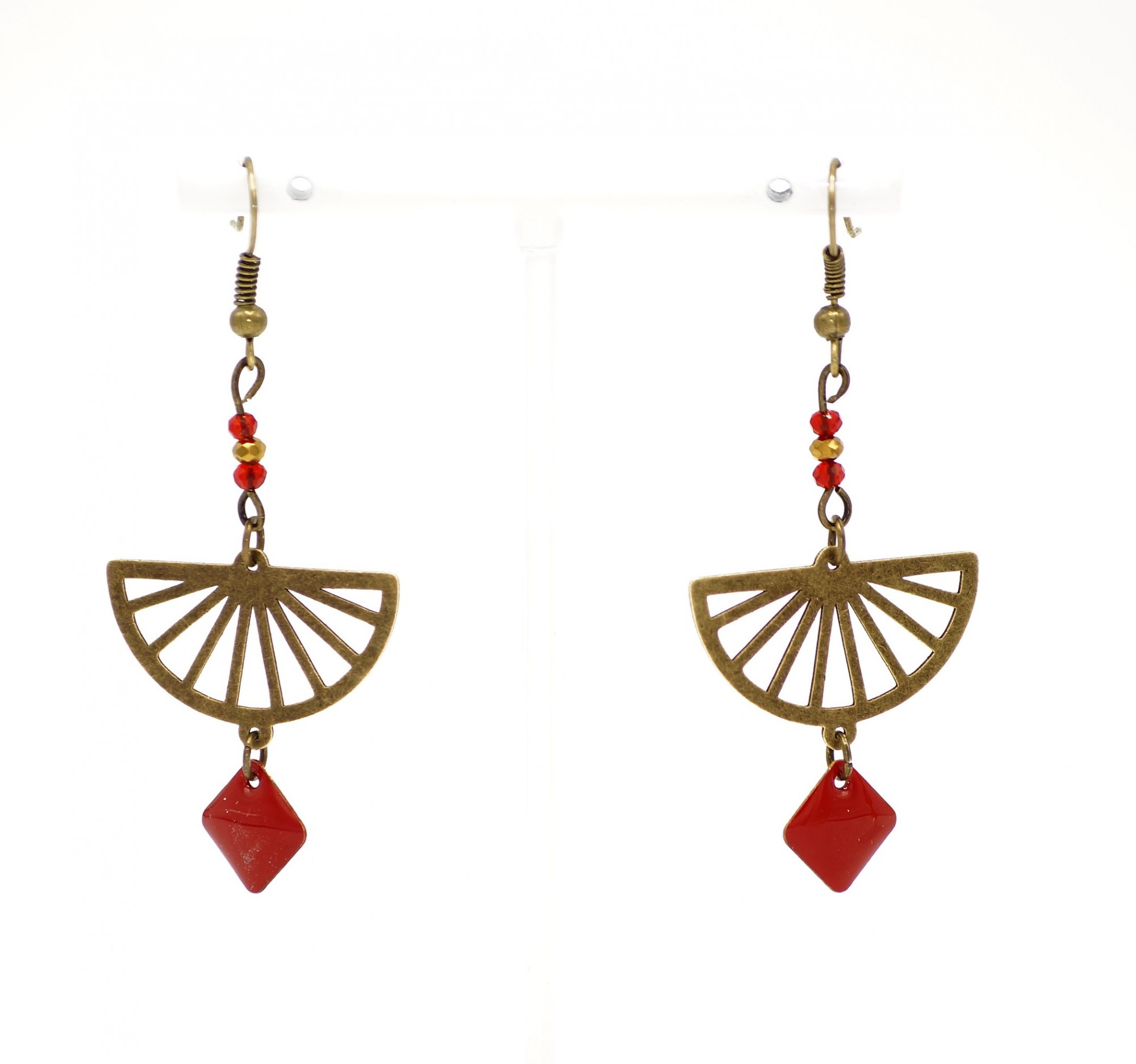 Boucles longues Tracy, Be Chic Bijoux