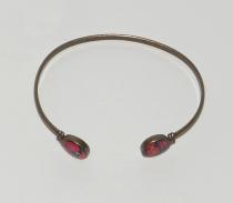 Bracelet femme jonc vintage La Belle Camille doré à l\'or