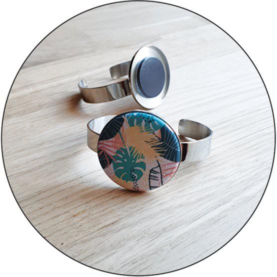 Bracelet Jonc à motif interchangeable Yaya Factory