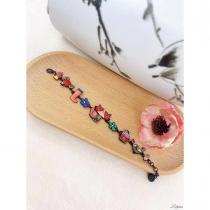 Bracelet Lol Bijoux, chat rouge