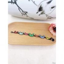 Bracelet Lol Bijoux, crabes multicolores