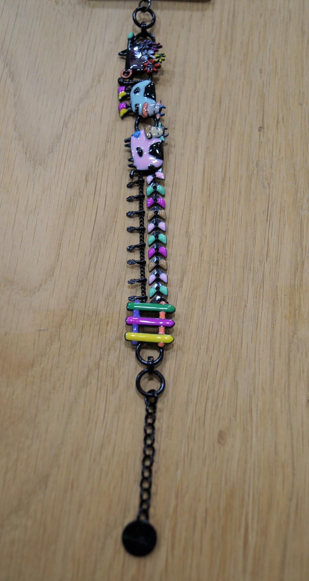 Bracelet Lol Bijoux, vache dans les prés
