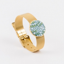 Bracelet montre doré support 25 mm Yaya Factory