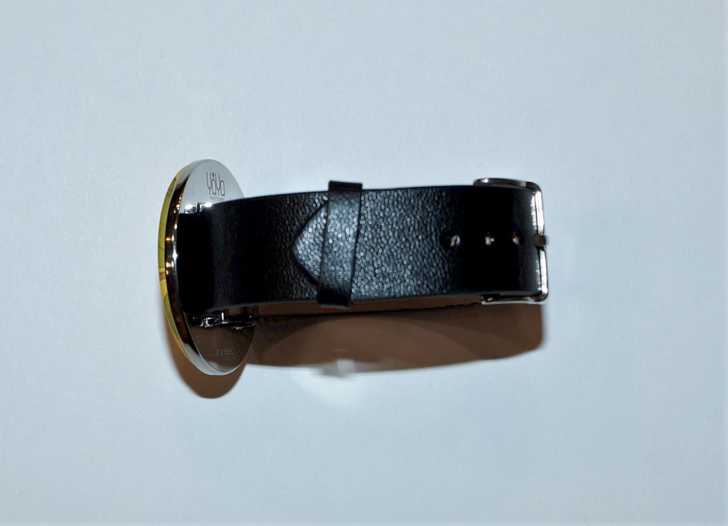 Bracelet montre noir support 38 mm Yaya Factory