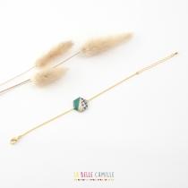 Bracelet Olympe or La Belle Camille