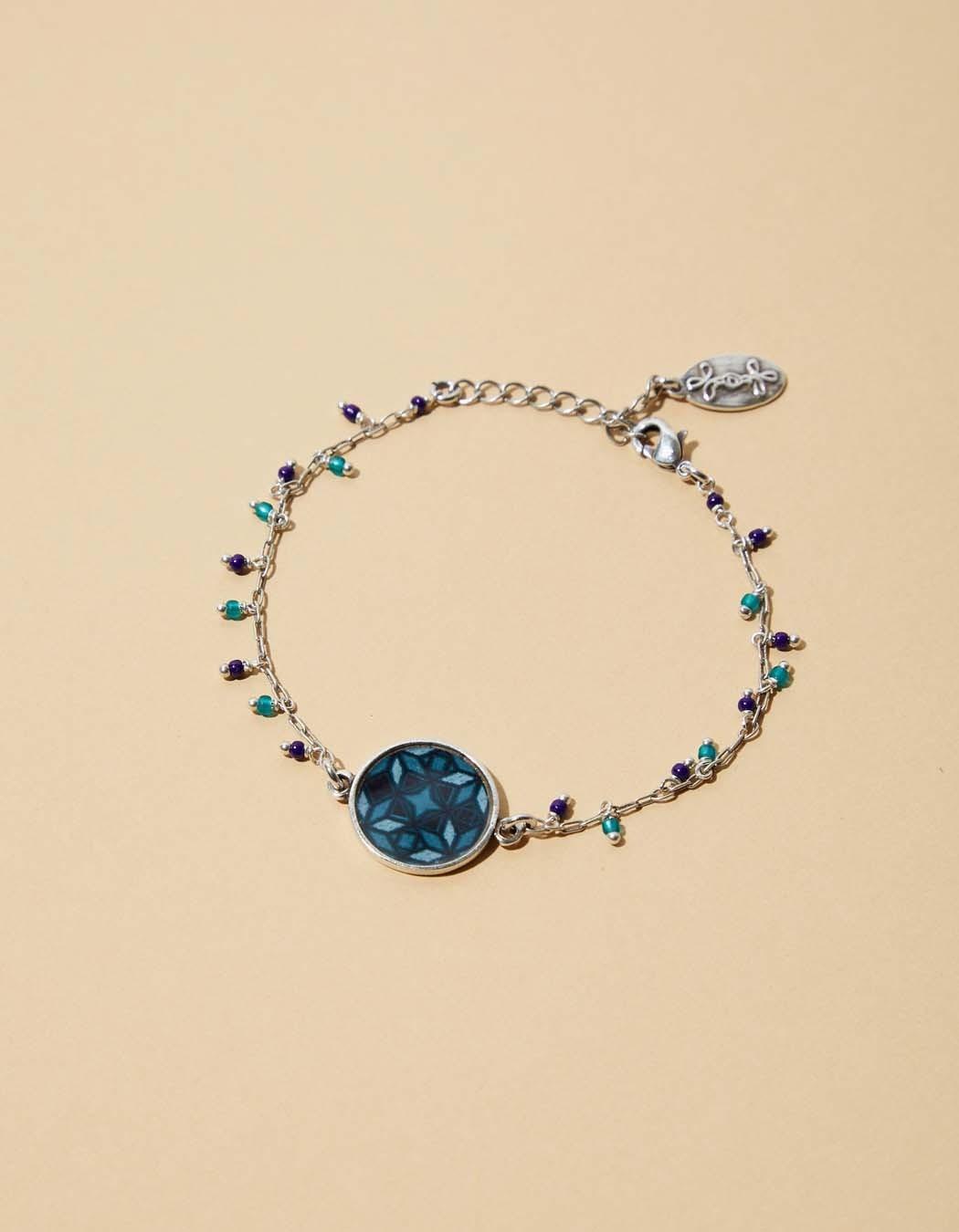 Bracelets fantaisie La Fiancée du Mékong, Mamba rosace