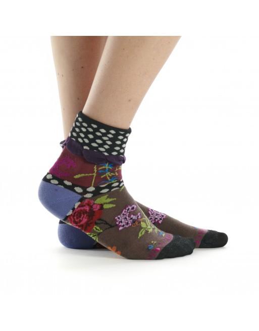 Chaussettes fataisie femme Dub & Drino, thème precious