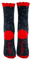 Chaussettes rouges Lili Gambettes, Bloom