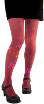 Collant fantaisie rouge Coriandre Lili Gambettes