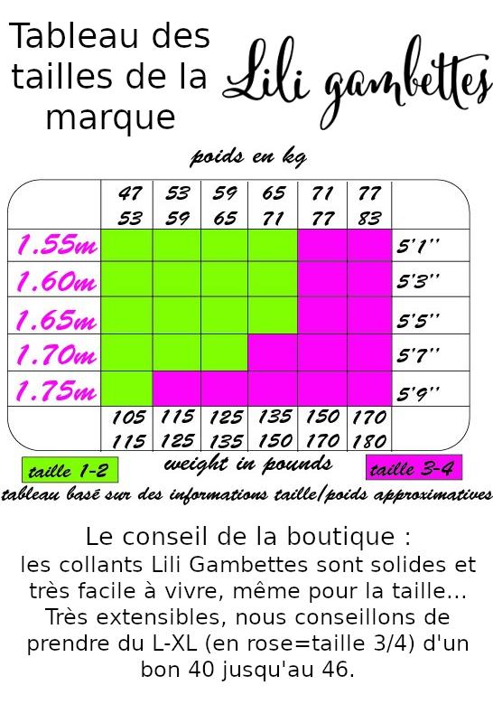Collants fantaisie imprimés Clochette turquoise Lili Gambettes