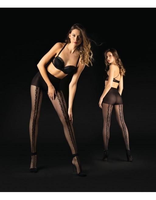 Collants fantaisie résille sexy  Sanpellegrino Intrigue