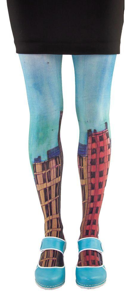 Collants graphiques Lili Gambettes, Bat 1