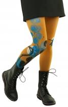 Collants imprimés Flamands bleus Cold18 Lili gambettes