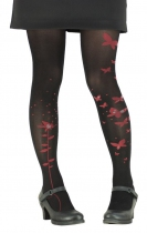 Collants lycra Papillons noirs Lili Gambettes