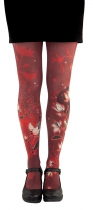 Collants opaques Lili Gambettes, Magnolia rouges