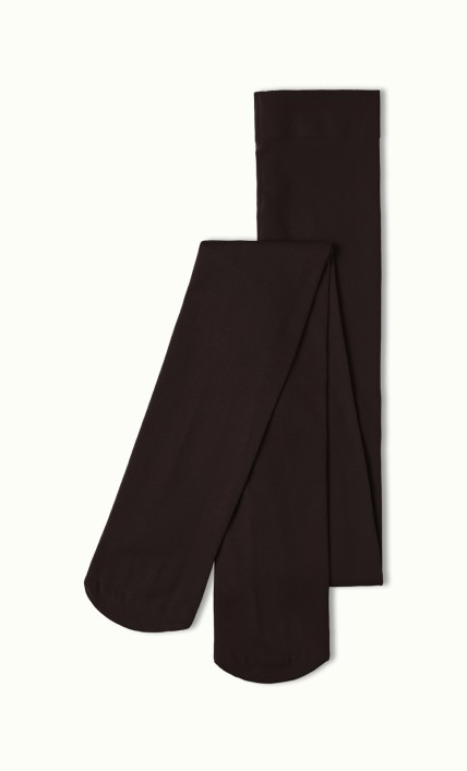 Collants opaques marron King Louie