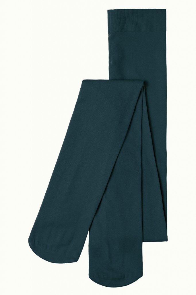 Collants opaques verts King Louie