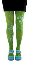 Collants verts Coriandre Lili Gambettes