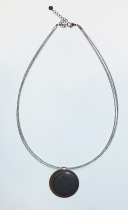 "Collier ""cable gris\"" support 38 mm Yaya Factory"