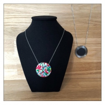 Collier chainette 38 mm Yaya Factory
