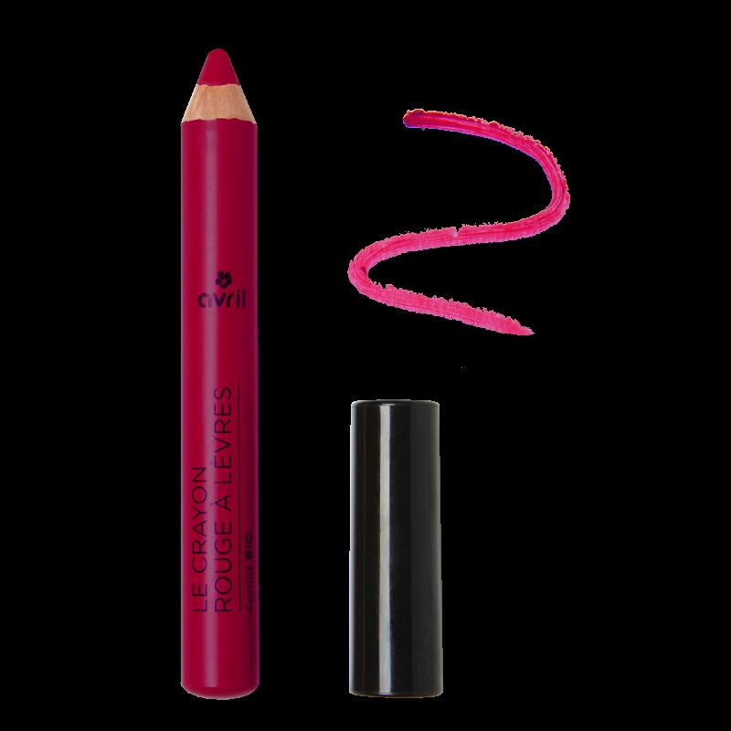 Crayon rouge à lèvres Violine Certifié bio Avril cosmétique