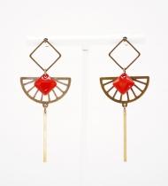 Diamond earrings Diana, Be Chic Jewels