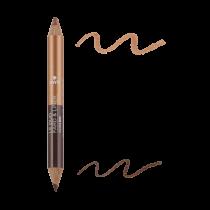 Duo fard & liner Bronze Cuivré/Beige Doré  Avril cosmétique
