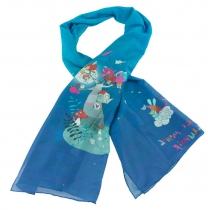 Foulards imprimés Lili Gambettes