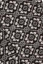 Gants femme à fleurs noires King Louie Campbel