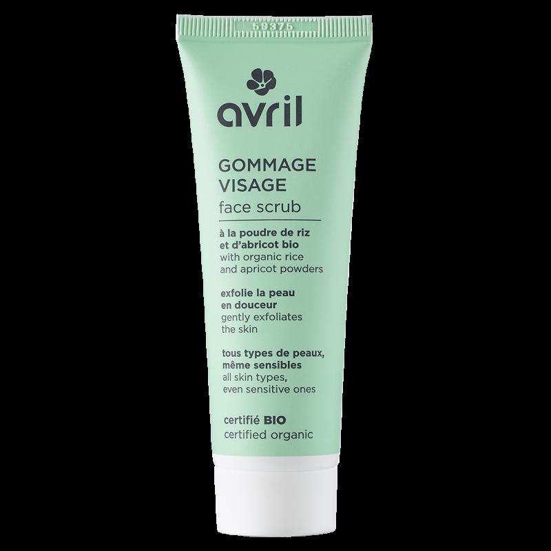 Gommage visage 50ml - Certifié bio  Avril cosmétique
