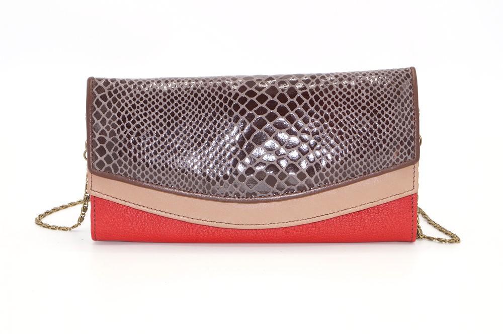 Grand portefeuille cuir / Compagnon / Pochette unique femme #3